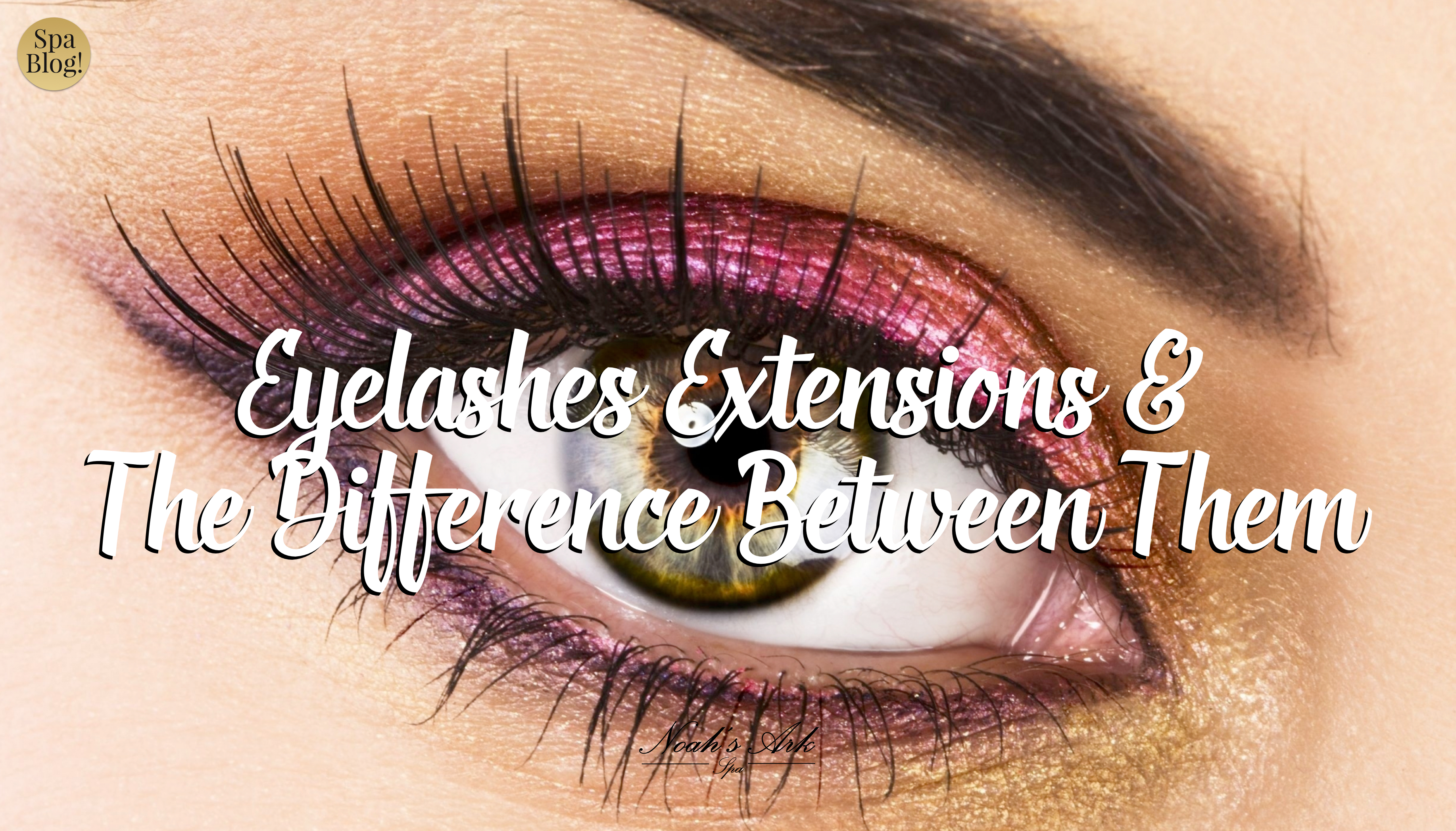 Eyelashes Extensions and The Difference Between Them